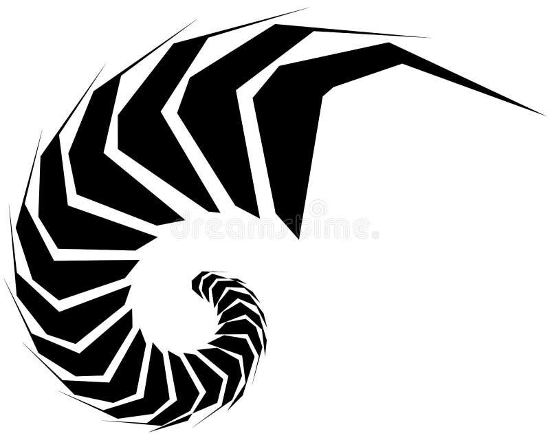 Download Геометрическая форма - угловой нервный элемент на белизне Иллюстрация вектора - иллюстрации насчитывающей angiosperms, разносторонне: 81809412