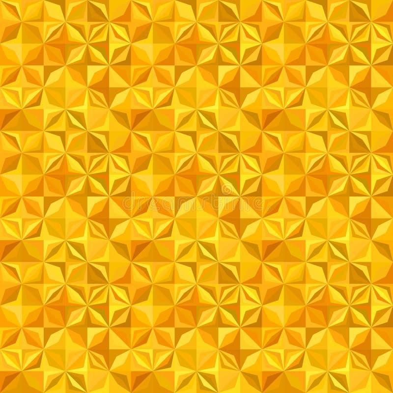 Геометрическая striped предпосылка картины мозаики плитки формы - безшовный дизайн иллюстрация вектора