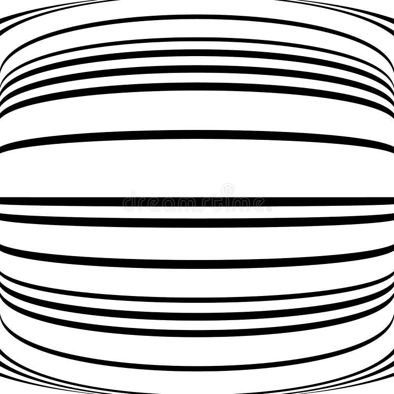 Download Геометрические линии картина с искажением абстрактный не-figural Il Иллюстрация вектора - иллюстрации насчитывающей backhoe, искажение: 81810362