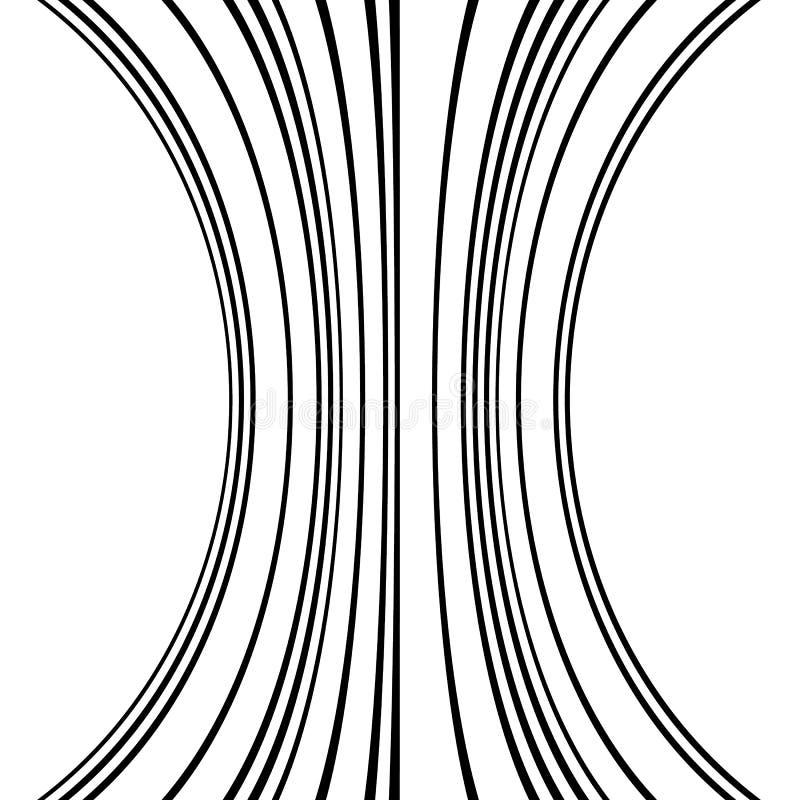 Download Геометрические линии картина с искажением абстрактный не-figural Il Иллюстрация вектора - иллюстрации насчитывающей сгибание, backhoe: 81810379