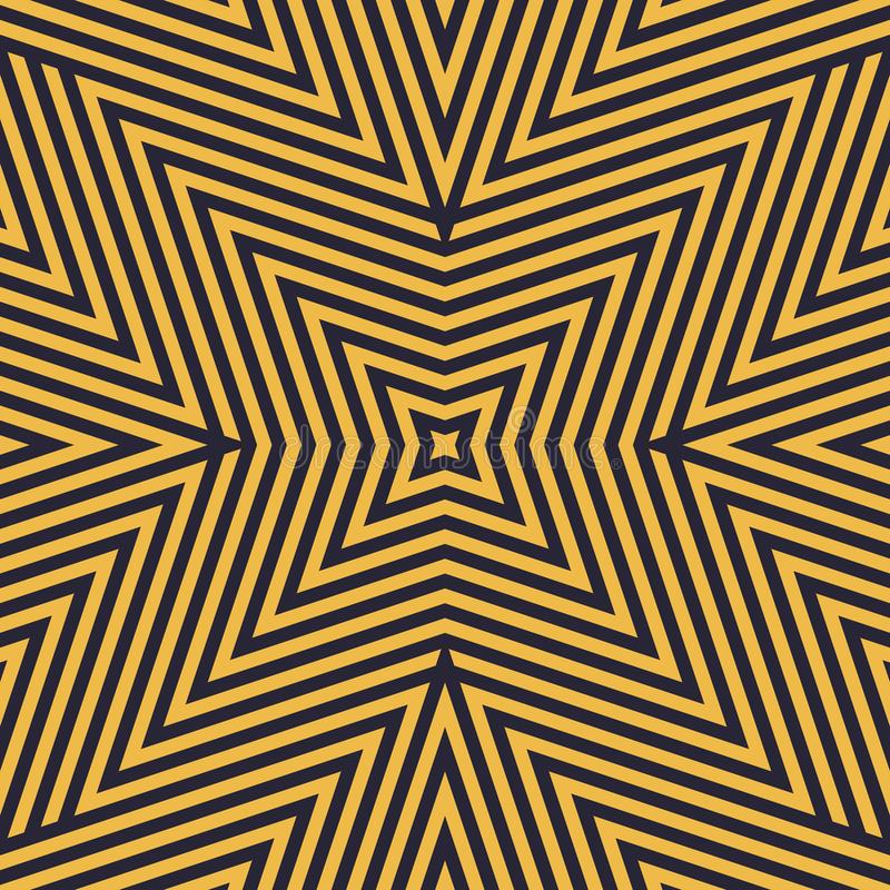 Геометрические линии безшовная картина E иллюстрация штока
