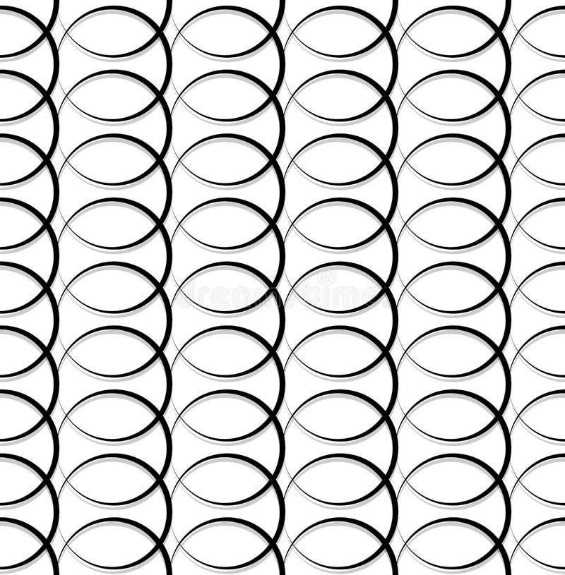 Download Геометрические черно-белые картина/предпосылка Плавно Repea Иллюстрация вектора - иллюстрации насчитывающей геометрическо, бесконечно: 81813743