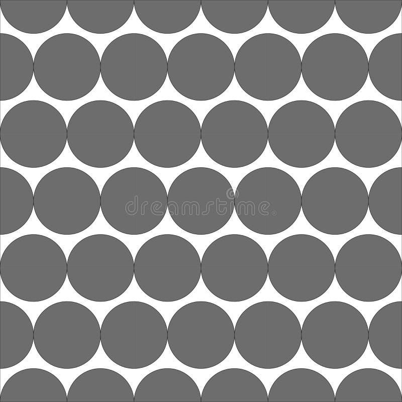 Геометрический безшовный вектор предпосылки картины Украшать и геометрии обои стоковое изображение