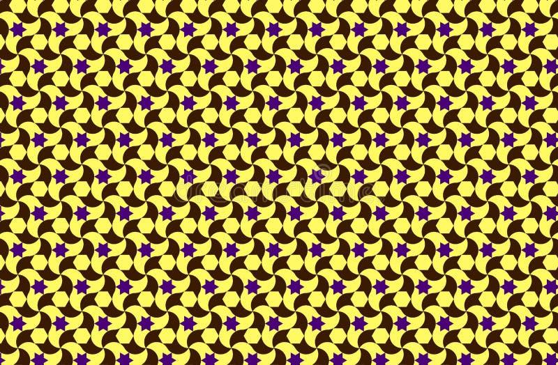 Геометрический со звездами E стоковые фотографии rf