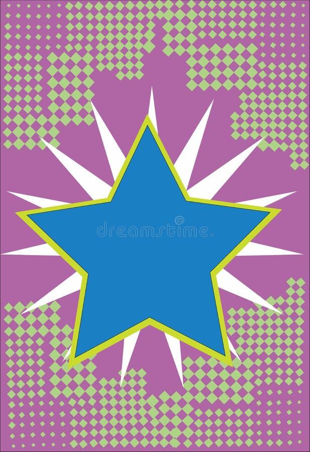 Геометрический элемент предпосылки плоского космоса экземпляра концепции иллюстрации вектора дела дизайна пустого современный абс иллюстрация штока