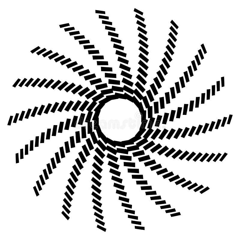 Download Геометрический элемент круга Круговой график с геометрическими линиями Иллюстрация вектора - иллюстрации насчитывающей вихрь, кругово: 81804959