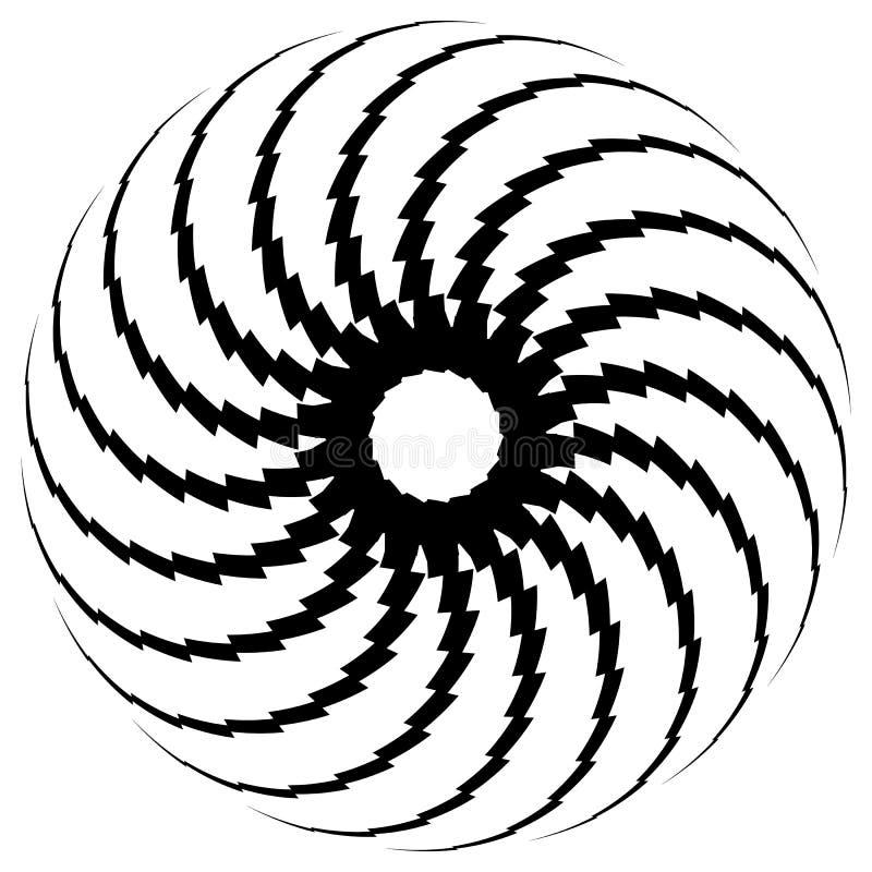 Download Геометрический элемент круга Круговой график с геометрическими линиями Иллюстрация вектора - иллюстрации насчитывающей круг, черный: 81804960