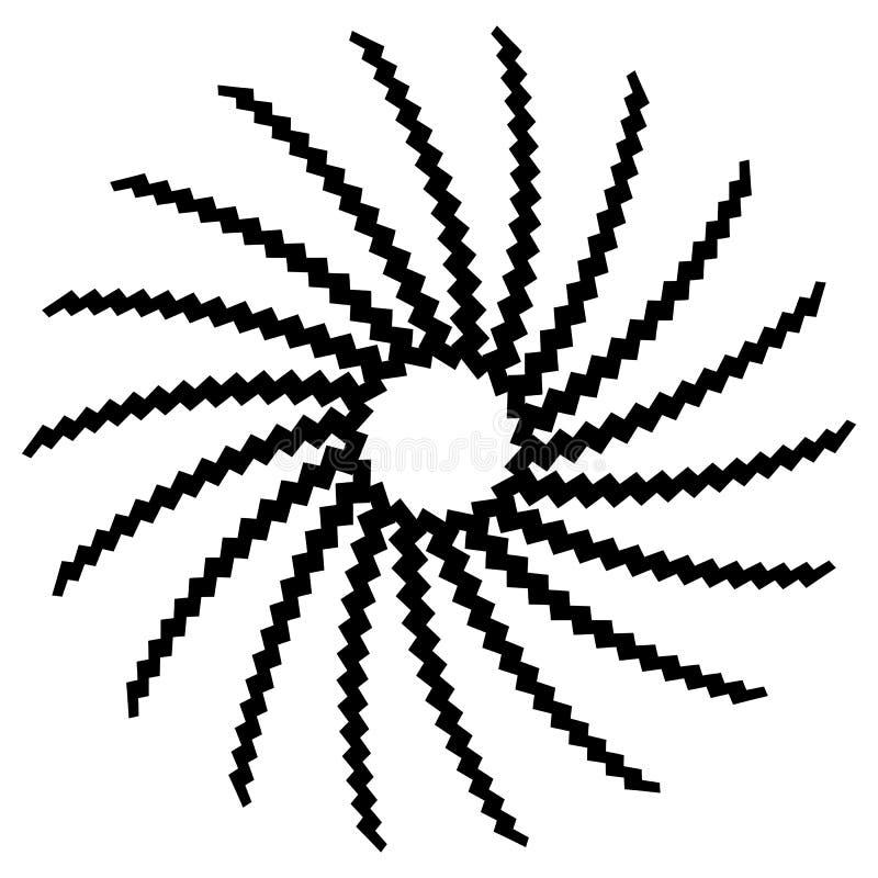 Download Геометрический элемент круга Круговой график с геометрическими линиями Иллюстрация вектора - иллюстрации насчитывающей разносторонне, скручиваемость: 81804987