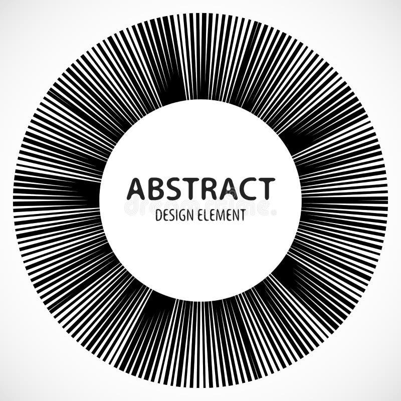 Download Геометрический элемент сделанный линий Абстрактное Monochrome Isola формы Иллюстрация вектора - иллюстрации насчитывающей мандала, изолировано: 81800508