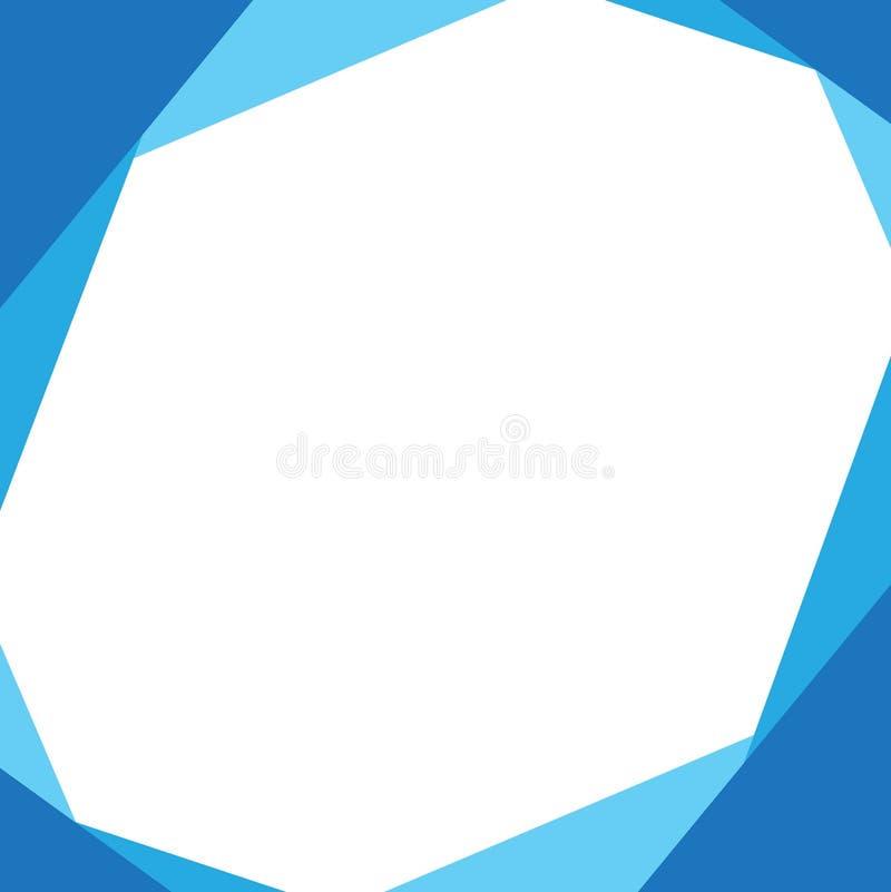 Геометрический яркий абстрактный современный дизайн Предпосылка вектора иллюстрация штока