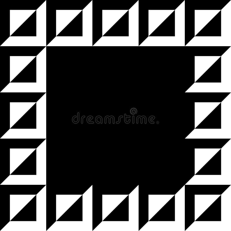 Download Геометрическое изображение, рамка фото в Squarish формате Иллюстрация вектора - иллюстрации насчитывающей центр, орнамент: 81805787