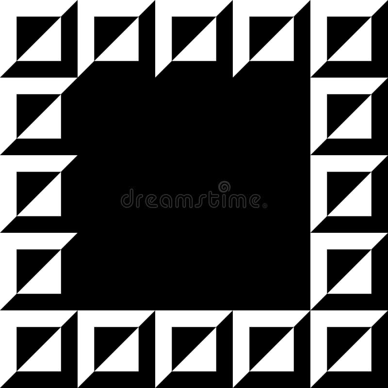 Download Геометрическое изображение, рамка фото в Squarish формате Иллюстрация вектора - иллюстрации насчитывающей пусто, украшение: 81805804
