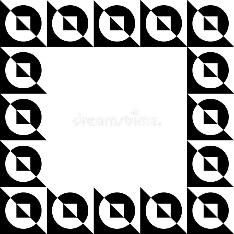 Download Геометрическое изображение, рамка фото в Squarish формате Иллюстрация вектора - иллюстрации насчитывающей чисто, элемент: 81805826