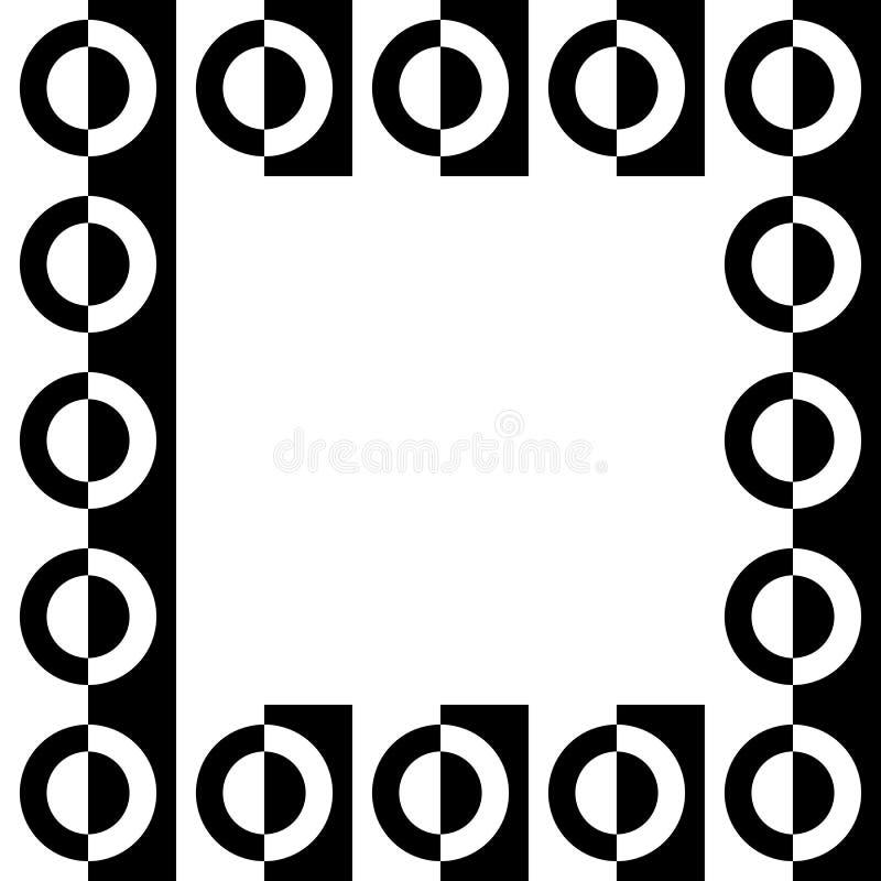 Download Геометрическое изображение, рамка фото в Squarish формате Иллюстрация вектора - иллюстрации насчитывающей оптически, элемент: 81805829