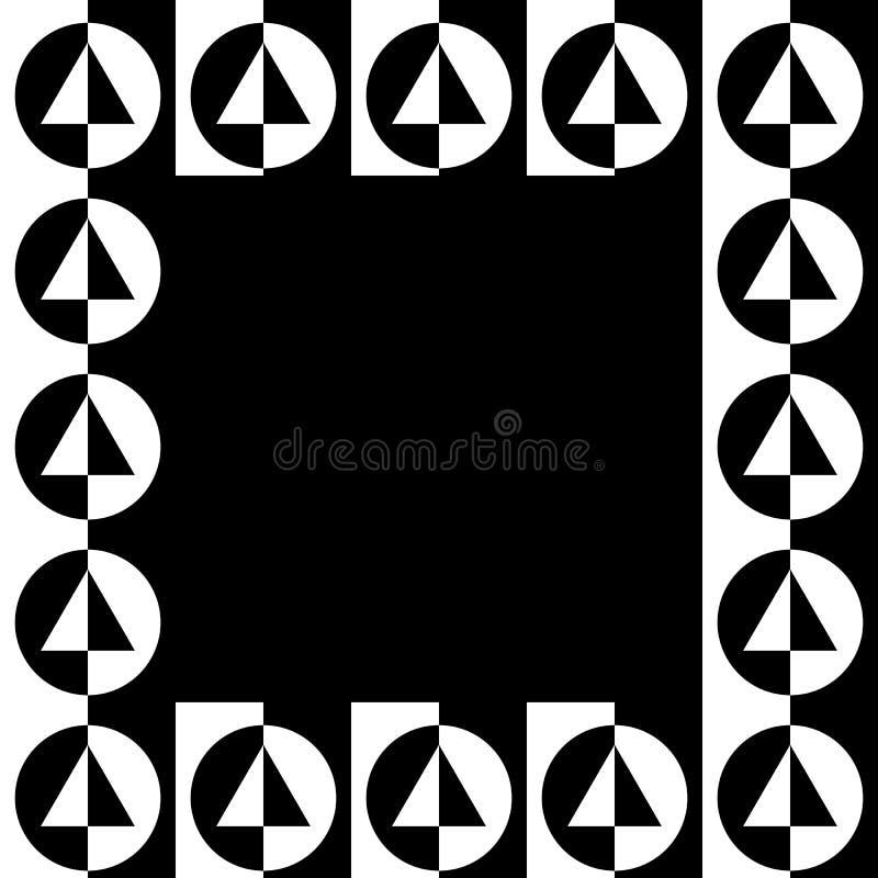 Download Геометрическое изображение, рамка фото в Squarish формате Иллюстрация вектора - иллюстрации насчитывающей minimalist, украшение: 81805838