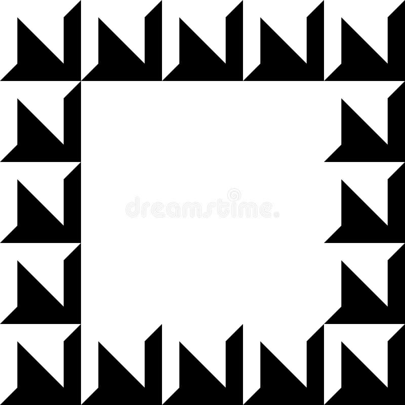 Download Геометрическое изображение, рамка фото в Squarish формате Иллюстрация вектора - иллюстрации насчитывающей чисто, checkered: 81805887