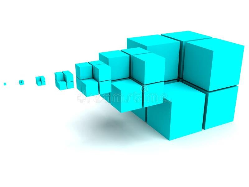 геометрическое изображение иллюстрация штока