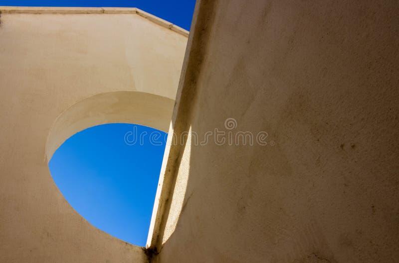 Геометрия здания стоковое фото