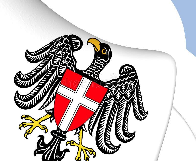 Герб вены, Австрия иллюстрация вектора
