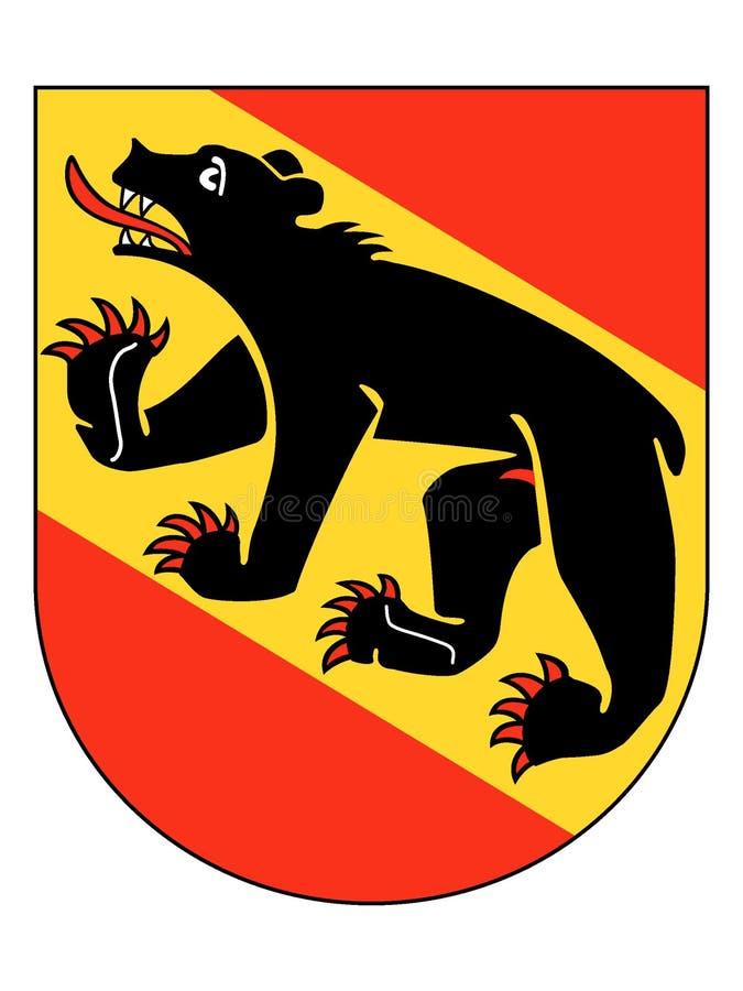 Герб города Bern иллюстрация вектора