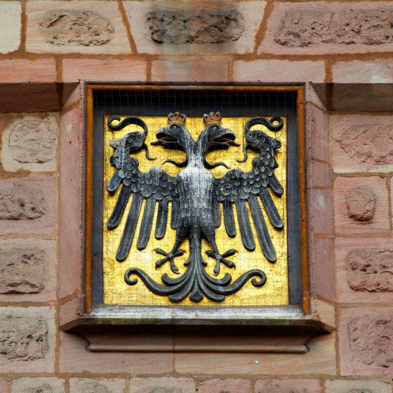 Герб Нюрнберга стоковое фото