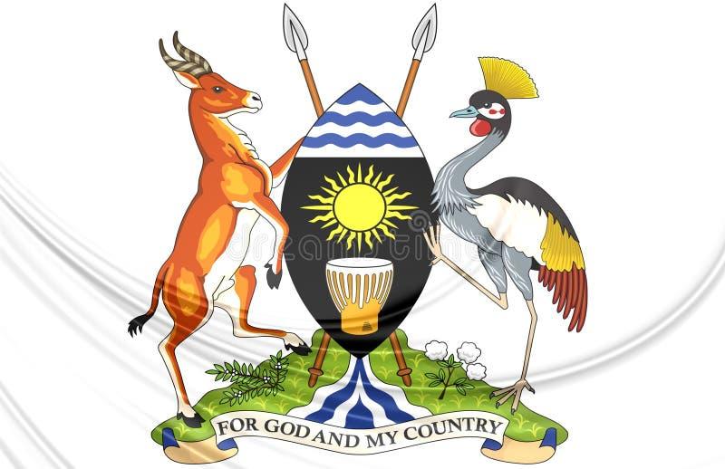 Уганда герб как выглядит 50 рублей