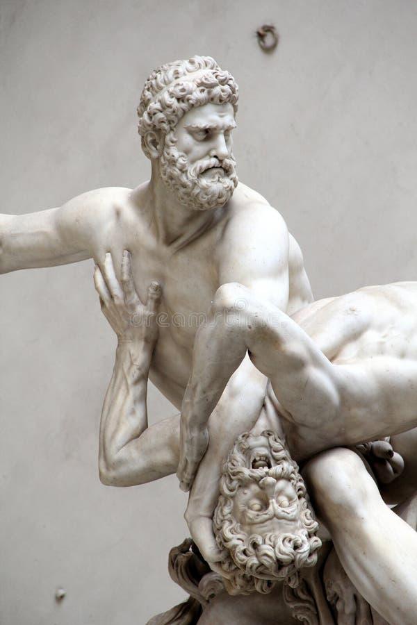 Геркулес и Nessus стоковые изображения rf