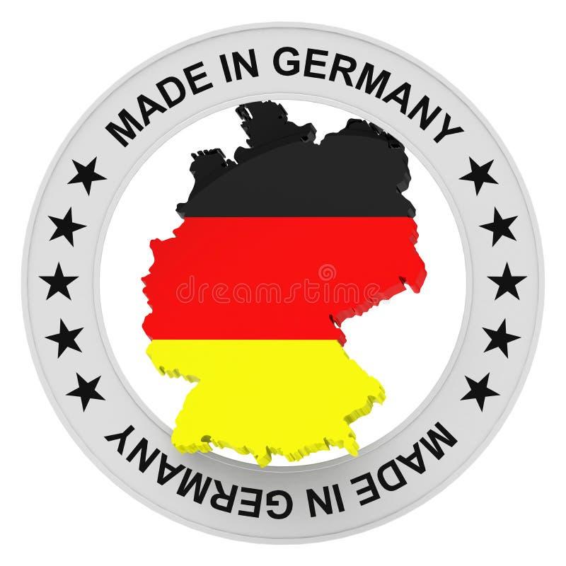 Германия сделала иллюстрация вектора
