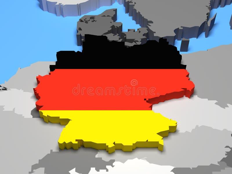 Германия иллюстрация штока