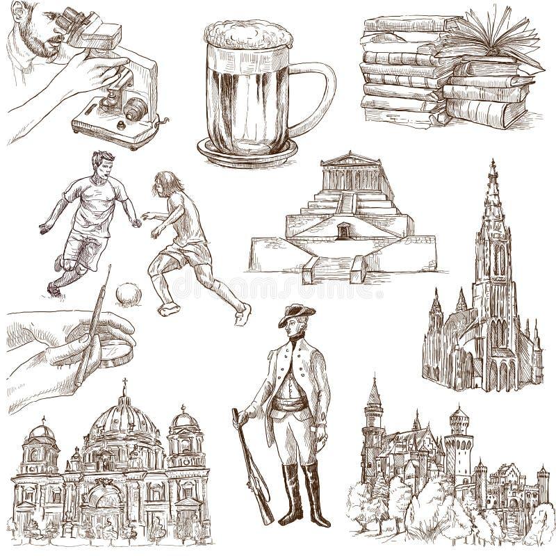 Германия 2 бесплатная иллюстрация