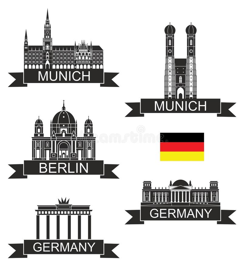 Германия иллюстрация вектора