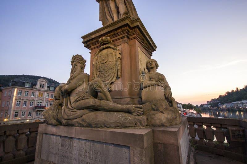 Германия heidelberg стоковое изображение