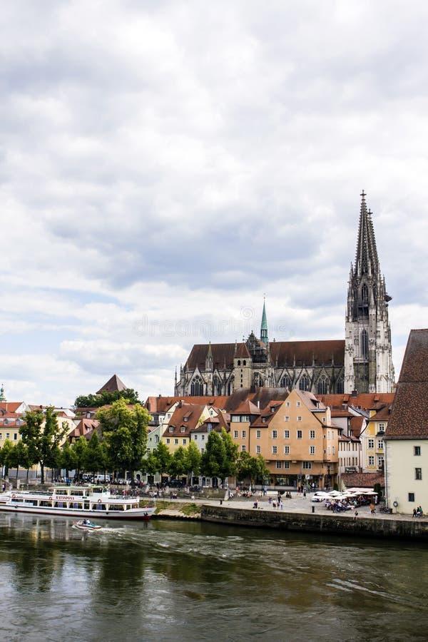 Германия regensburg стоковые фотографии rf