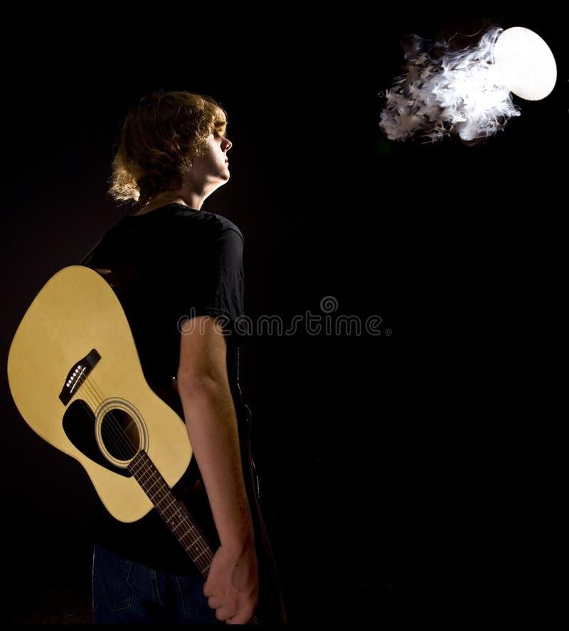 герой гитары стоковые фотографии rf