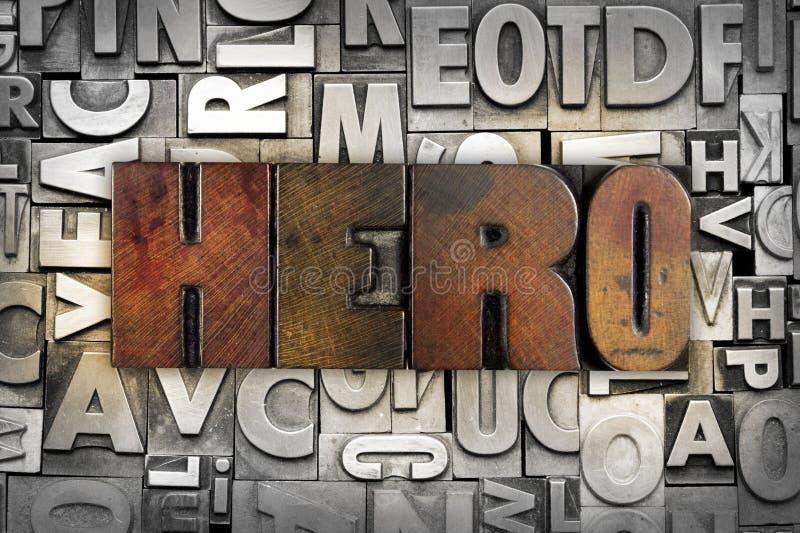Герой стоковая фотография rf
