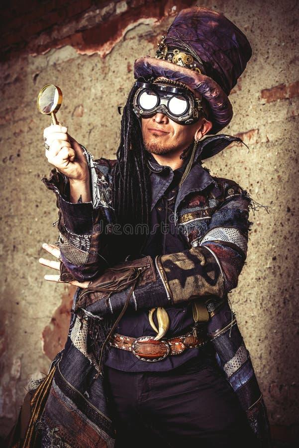 Герой Grunge стоковые фото
