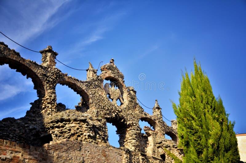 Герцогский дворец Sassuolo, Италии, старой резиденции лета семьи Este, фонтана стоковая фотография rf