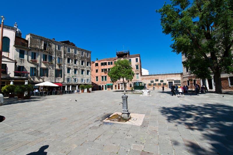 гетто Италия еврейский квартальный venice стоковые фотографии rf
