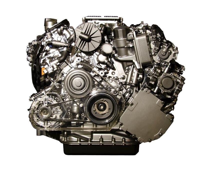 Двигатель автомобиля Hybryd от Мерседес стоковое фото
