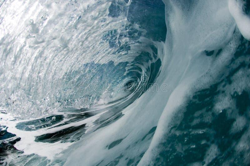 гигантская полая волна стоковые изображения rf