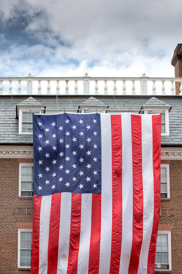 Гигантская предпосылка государственный флаг сша американского флага США стоковое изображение rf