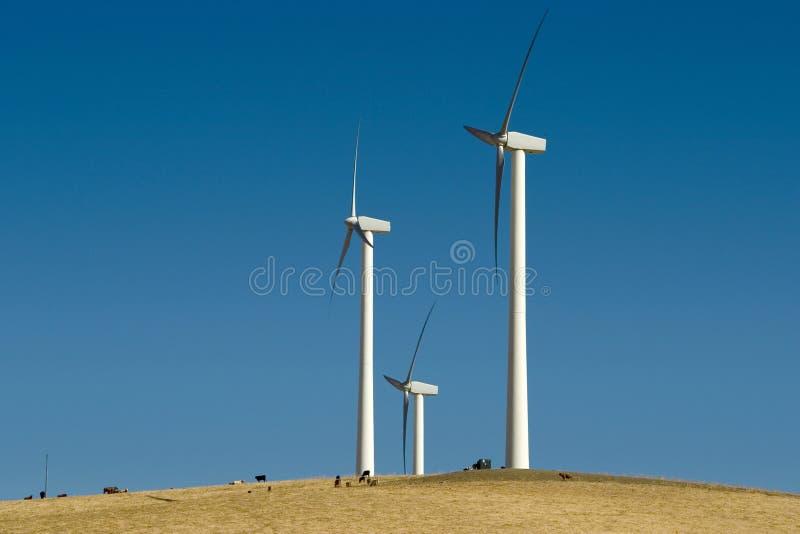 гигантский ветер башен стоковые фото