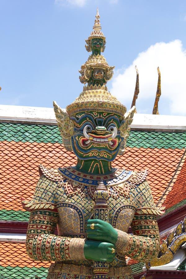 Гигантский изумрудный висок Будды стоковое фото