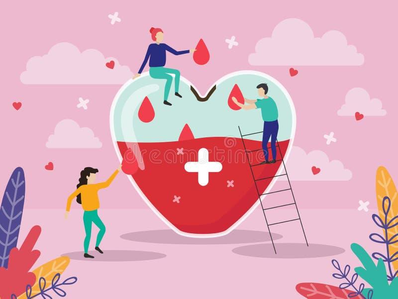 Гигантский плакат дизайна медицины сердца иллюстрация штока