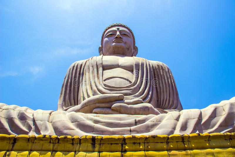Гигант Будда в Bodhgaya, Бихар, стоковые изображения rf