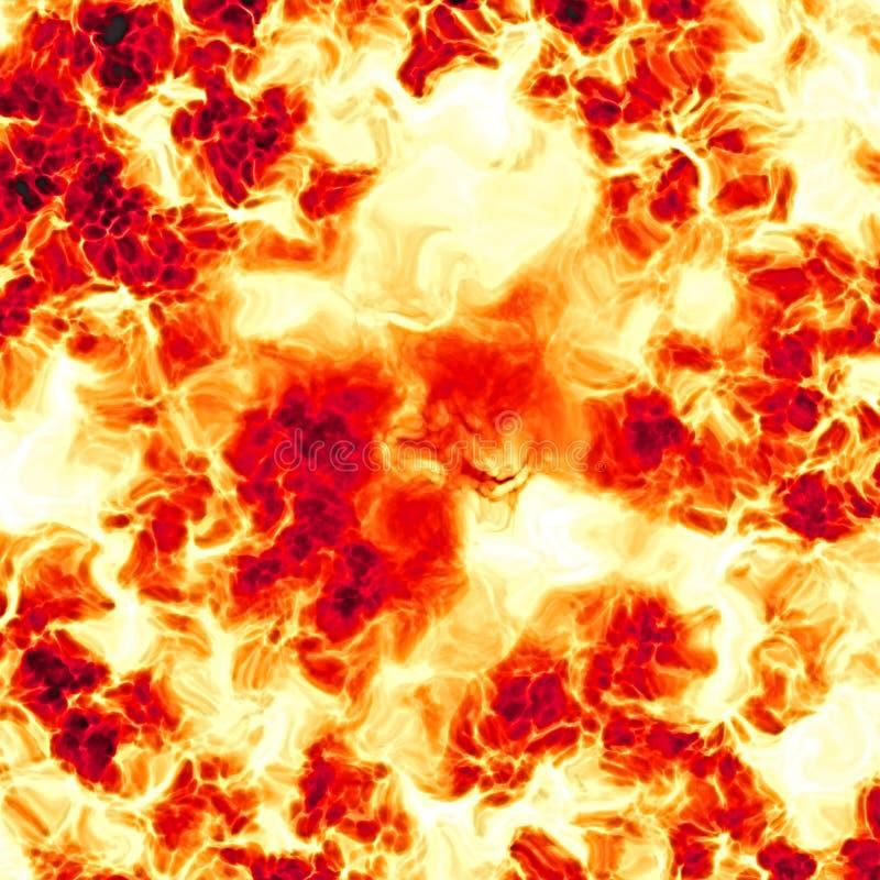 гигант взрыва иллюстрация вектора
