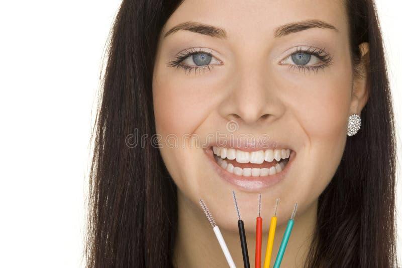 гигиена устная стоковая фотография rf