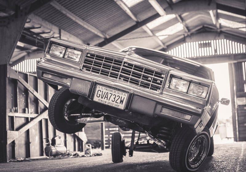 Гидравлический автомобиль на выставке Англии стоковые изображения