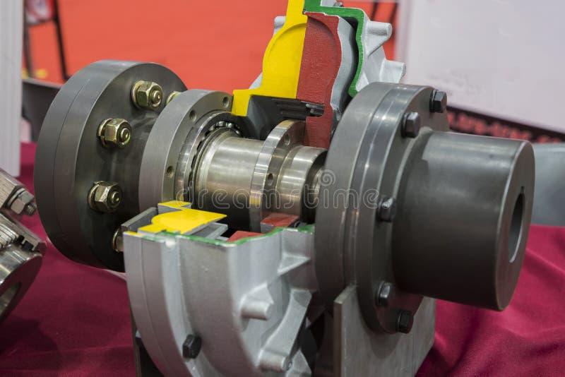 Гидравлическое сцепление стоковое изображение rf