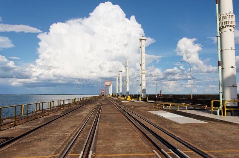 гидроэлектрическая сила завода itaipu стоковые изображения rf